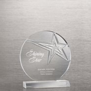 Contemporary Acrylic Trophy Collection - Star